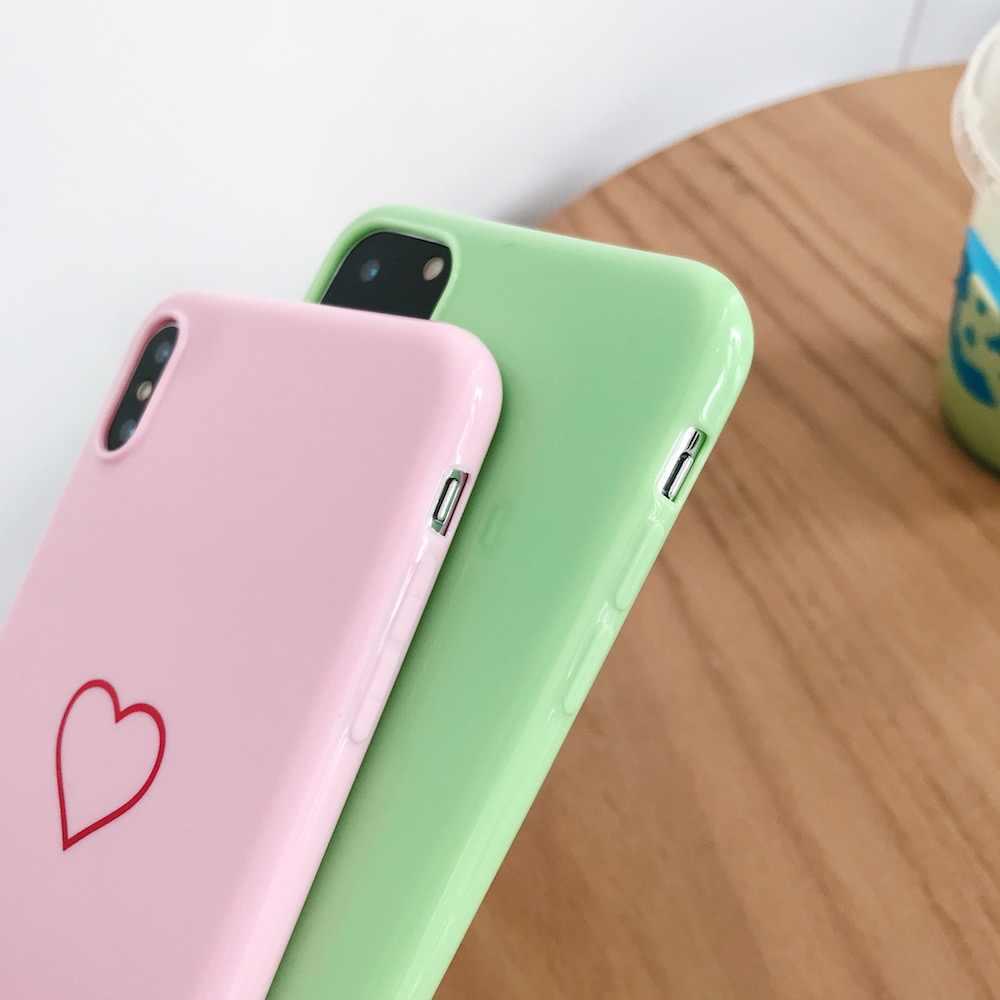 Новый милый мягкий чехол для iPhone X, Xs, XR, XsMax, 8 Plus, 8, 7 Plus, 7, 6, 6 S Plus, 11Pro, 11 ProMax, 11, чехол для телефона