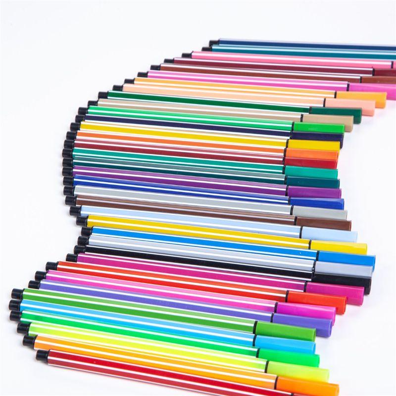 12 Colors/Set Fineliner Art Mark Pen Watercolor Pen Line Drawing Pen