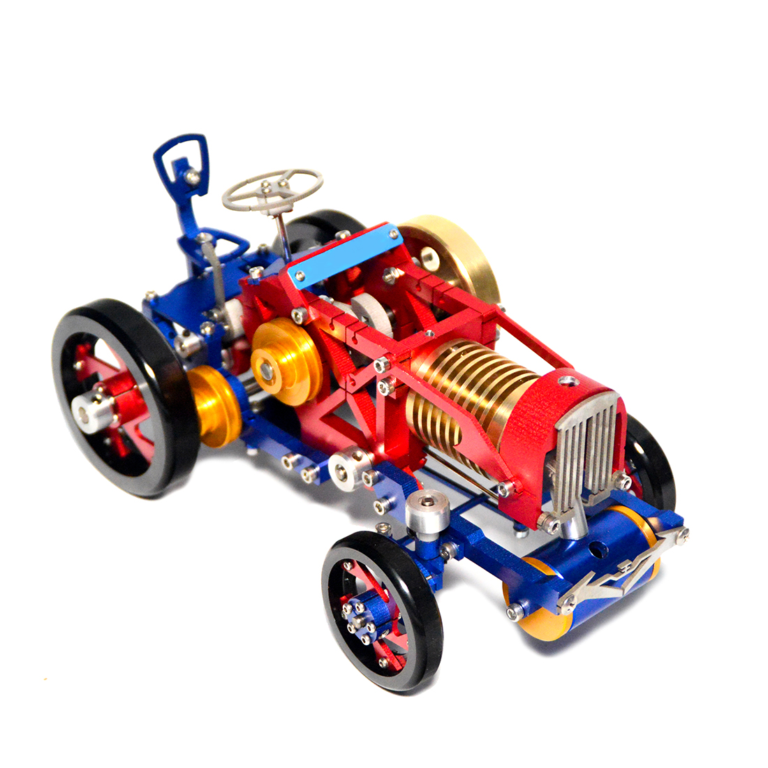 NFSTRIKE Vacuum Suction Fire Type Metal Stirling Engine Tractor Model  Christmas Gifts 2019 New Arrival