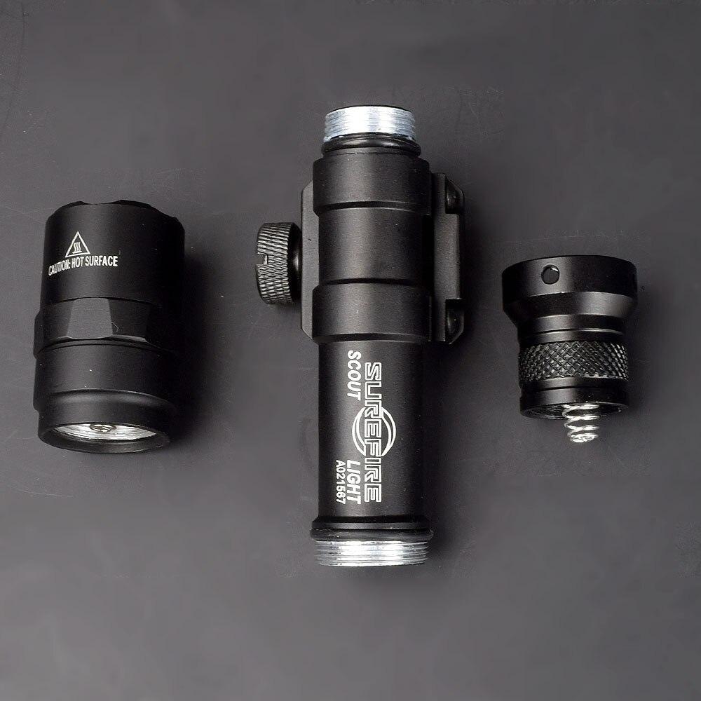 M600 M600B Скаут светильник тактический светодиодный мини вспышка светильник 20 мм с креплением для охоты Keymod рейку оружие светильник для занятий спортом на открытом воздухе