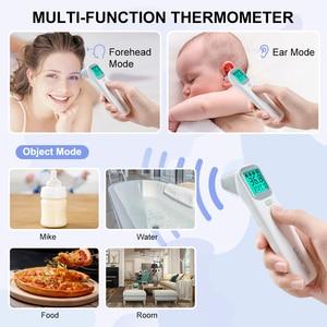 Image 4 - ELERA תינוק מדחום אינפרא אדום הדיגיטלי LCD גוף מדידה אוזן מצח ללא מגע למבוגרים חום IR ילדי Termometro