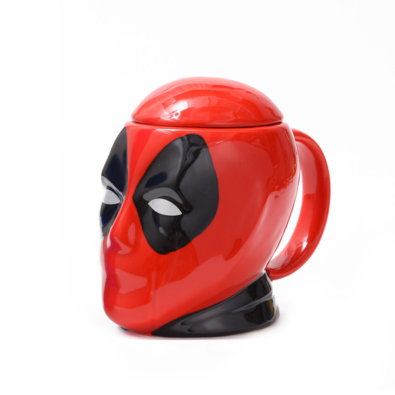 3D Ceramic Mug Tea Cup Deadpool Coffee Mug For Home Deco New