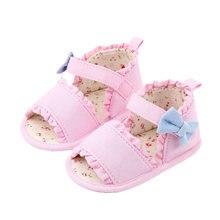 Обувь для маленьких девочек; Милые летние сандалии с цветочным