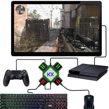 PS4 Xbox One klawiatura mysz Adapter gamepad konwerter na PS4 PS3 Xbox One Nintendo Switch FPS akcesoria do gier tanie i dobre opinie Jeebel Camp Sony PLAYSTATION4 playstation3 Controller Adapter