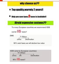ups shipping fee for spain french italy Belgium Netherlands Portugal Denmark 100% 0 tax fee