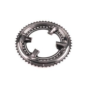 Image 2 - シマノ硬膜エース R9100 11 スピード黒 chairing バイク自転車 110BCD 50 34 t/52 36 t /53 39t R9100 クランクセットロードバイクアクセサリー