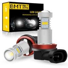 BMTxms 2 uds Canbus para Skoda Octavia 2 3 MK2 MK3 1Z 5E A5 A7 FL 2005-2020 coche LED H11 H8 frente bombilla de luz antiniebla blanco Auto lámpara