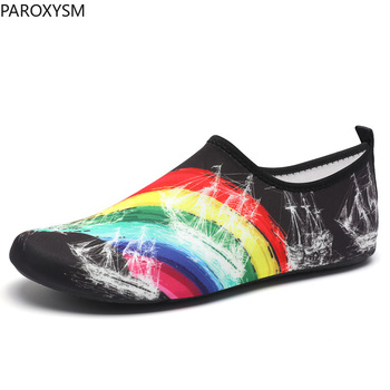 Sporty wodne buty letnie sporty wodne buty miękkie męskie buty kapcie plażowe buty damskie buty do jogi pływanie nurkowanie skarpety tanie i dobre opinie HAISITU Pasuje prawda na wymiar weź swój normalny rozmiar Spring2019 Slip-on Początkujący Szybkoschnący Elastycznej tkaniny