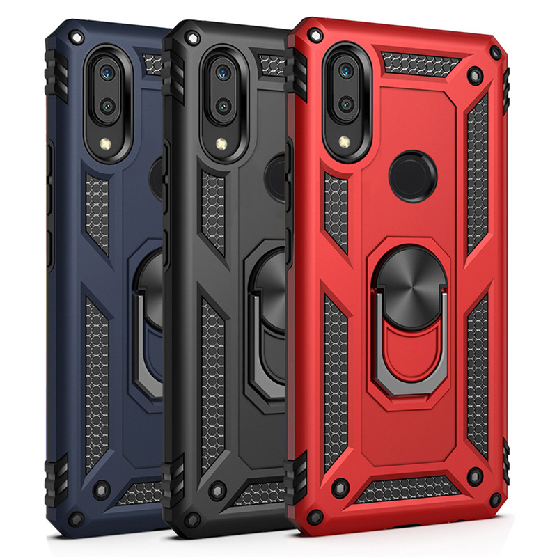 Shockproof Armor Magnetic Metal Phone Case For Xiaomi Redmi Note 7 8 9 9S 7A 8A K20 K30 9T Pro 8T A3 CC9 CC9E Magnet Ring Cover