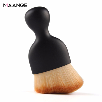 1PCS Contour Foundation Brush S Shape Cream Blush Loose Powder Makeup Brushes Multifunctional Cosmetic Make Up Brush Beauty Tool 1