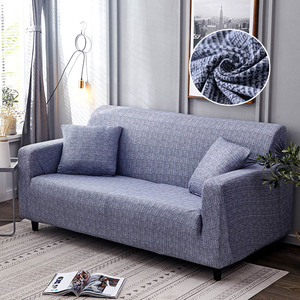 Image 5 - Geometryczna narzuta na sofę elastyczna rozciągliwa uniwersalna narzuta na sofę s przekrój kanapy pokrowiec narożny na fotele meblowe 1/2/3/4 seater