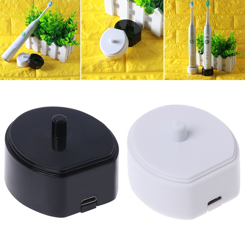 Electric Toothbrush Charger Charging Cradle USB Line Data Cable Portable Base for HX6730, HX6721, HX3216