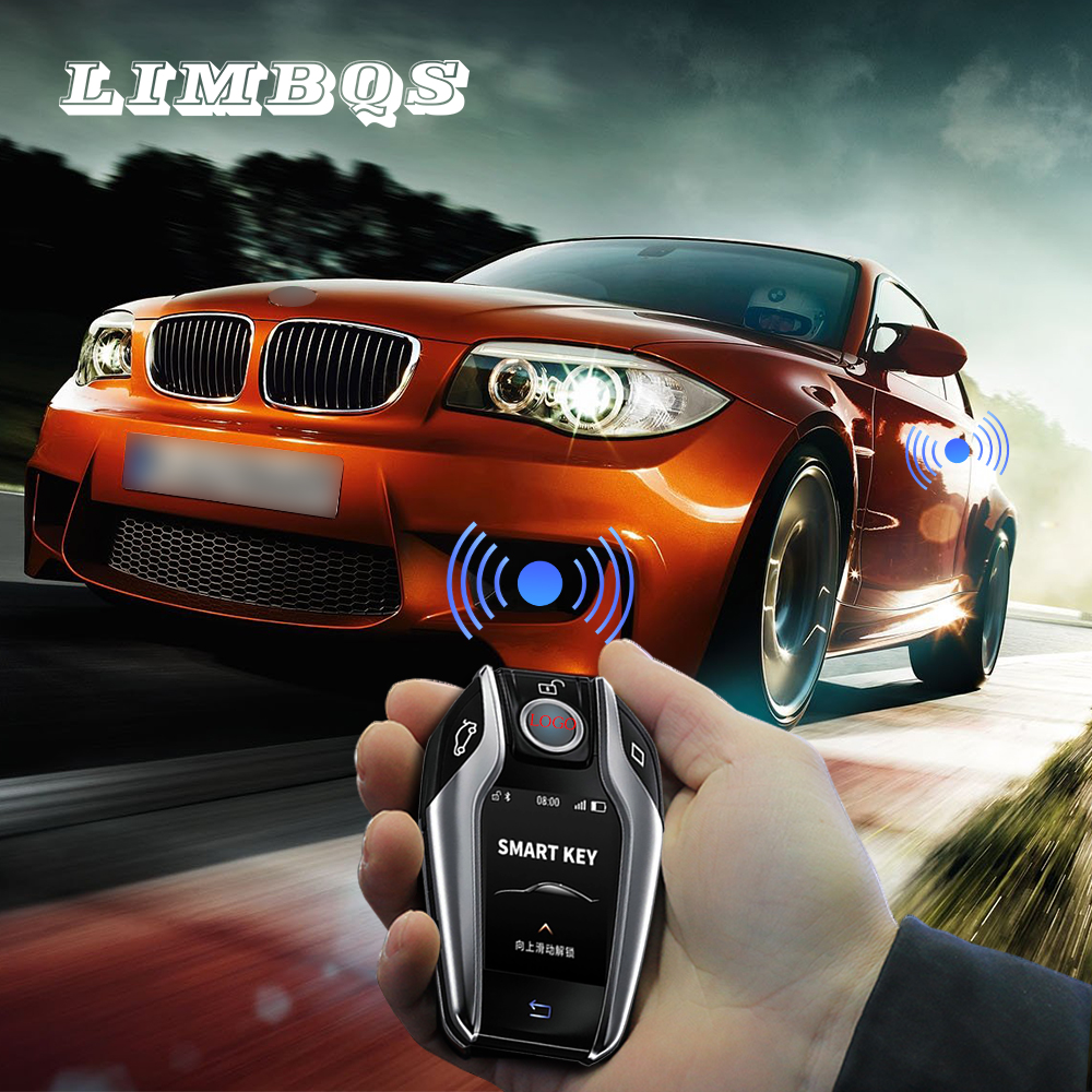 Bmw g30 g11 g12 g01 원격 중앙 usb/무선 충전을위한 lcd 키 원 클릭 체크 차량 상태 인터페이스 전시회 업그레이드