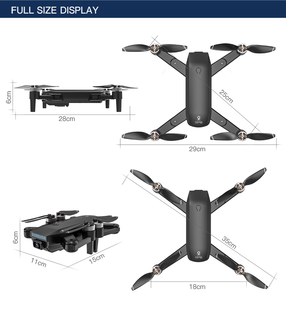 H690b234529df45d5a5cafb83c39cc935b - ZLL SG700 MAX Drone GPS 5G WiFi Dual Camera Brushless Motor Flight RC Distance 800m SG700 Pro Foldable Professional Quadcopter