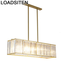 Chandelier Moderne Design Crystal Light Fixtures Suspension Lampara De Techo Colgante Moderna Luminaire Suspendu Hanging Lamp