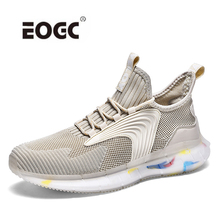 Fashion Sneakers Lightweight Soft Men Casual Shoes Breathable Male Footwear Lace Up Walking Shoes Zapatillas Hombre 2019 fashion sneakers leather men casual shoes zapatos hombre footwear male walking shoes designer men business shoes flat dress