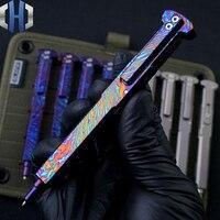Tactical Pen Titan Legierung Pistole Stecker Persönlichkeit Kreative Tragbare Schreiben EDC Werkzeuge Verteidigung Stift-in Brecheisen aus Werkzeug bei
