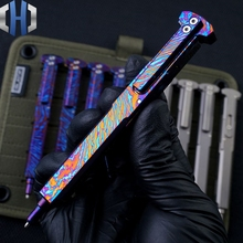 Tactical Pen Titanium Alloy Gun Plug Personality Creative Portable Writing EDC Tools Defense