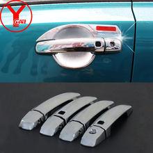 YCSUNZ 2019 ABS chrome side door handle protectors For suzuki vitara escudo 2015 2016 2017 2018 accessories car exterior parts