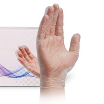 100 sztuk Box jednorazowe rękawice hurtownie catering fryzjerstwo żywności rękawice zagęszczony przeźroczyste tworzywo sztuczne folia PE rękawice tanie i dobre opinie Dla dorosłych Unisex Octan Nadgarstek Rękawiczki Moda 70-100g Thin Cleaning support dispossable gloves Nitrile Smooth Lining Latex