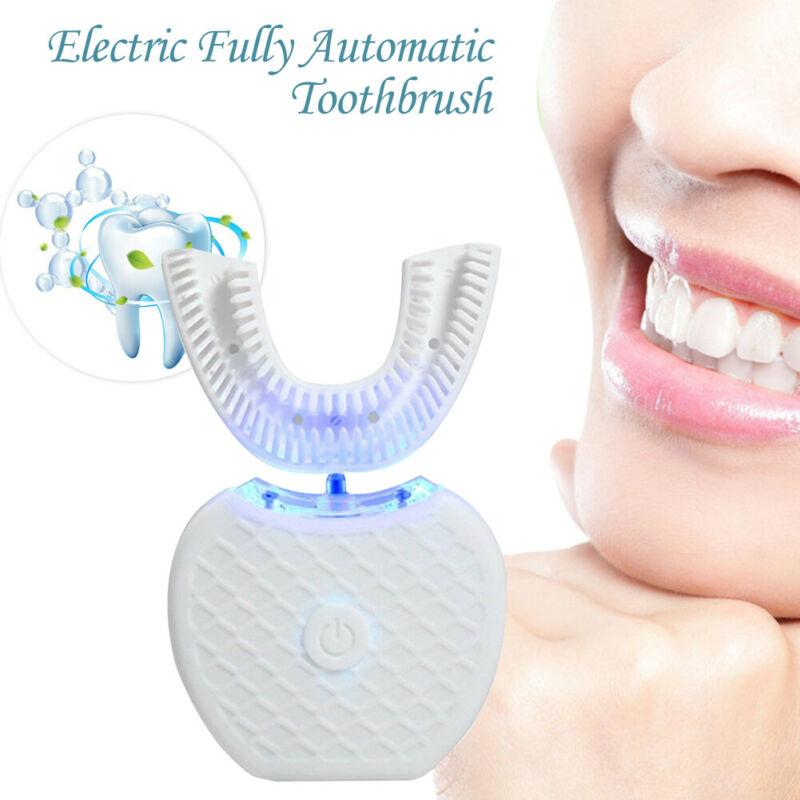 Automatic Electric Ultrasonic Toothbrush Hands Free 360° Whitening Brushing  Manual Toothbrush
