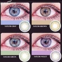 EYESHARE-1 par (2 uds) de lentes de contacto de Color, serie gundoud de 3 tonos, uso anual, lentes de contacto cosméticos, Color de ojo