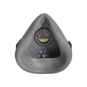 Image 4 - Пылезащитная маска POWECOM 3700, респиратор для частиц, полумаска с фильтром, хлопковая защитная маска для лица, против пыли и смога