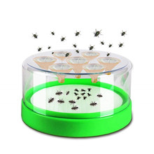 Automatic Fly Trapper Mosquito Catcher Killer Indoor Anti Insect Device Safe Flycatcher Pest Reject Control For Home Kitchen
