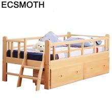 Infantiles Meble Litera деревянный Yatak Odasi mobillya Деревянный светильник для спальни детская мебель кровать