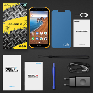 Image 5 - Ulefone Armor X6 IP68 MT6580 Rugged Waterproof Smartphone Android 9.0 Cell Phone Mobile Phon/Quad core/ 4000mAh /2GB 16GB /3G