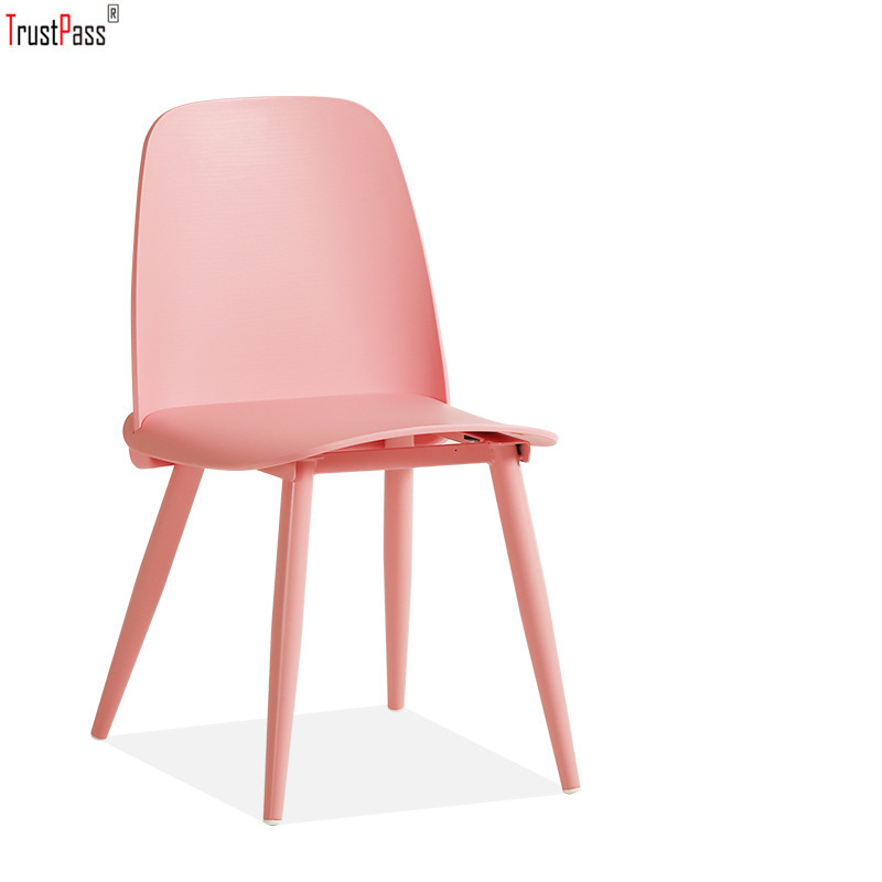 Plastic Chair Northern Europe Table Chair Wit Chair Concise Coffee Leisure Time Chair Plastic Cement Dining Chair