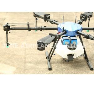Image 2 - ЭПС E616S 16L сельскохозяйственных Дрон E616 616S 16 кг складной колесная база рамки безщеточный Водяной насос спрей сельское хозяйство drone