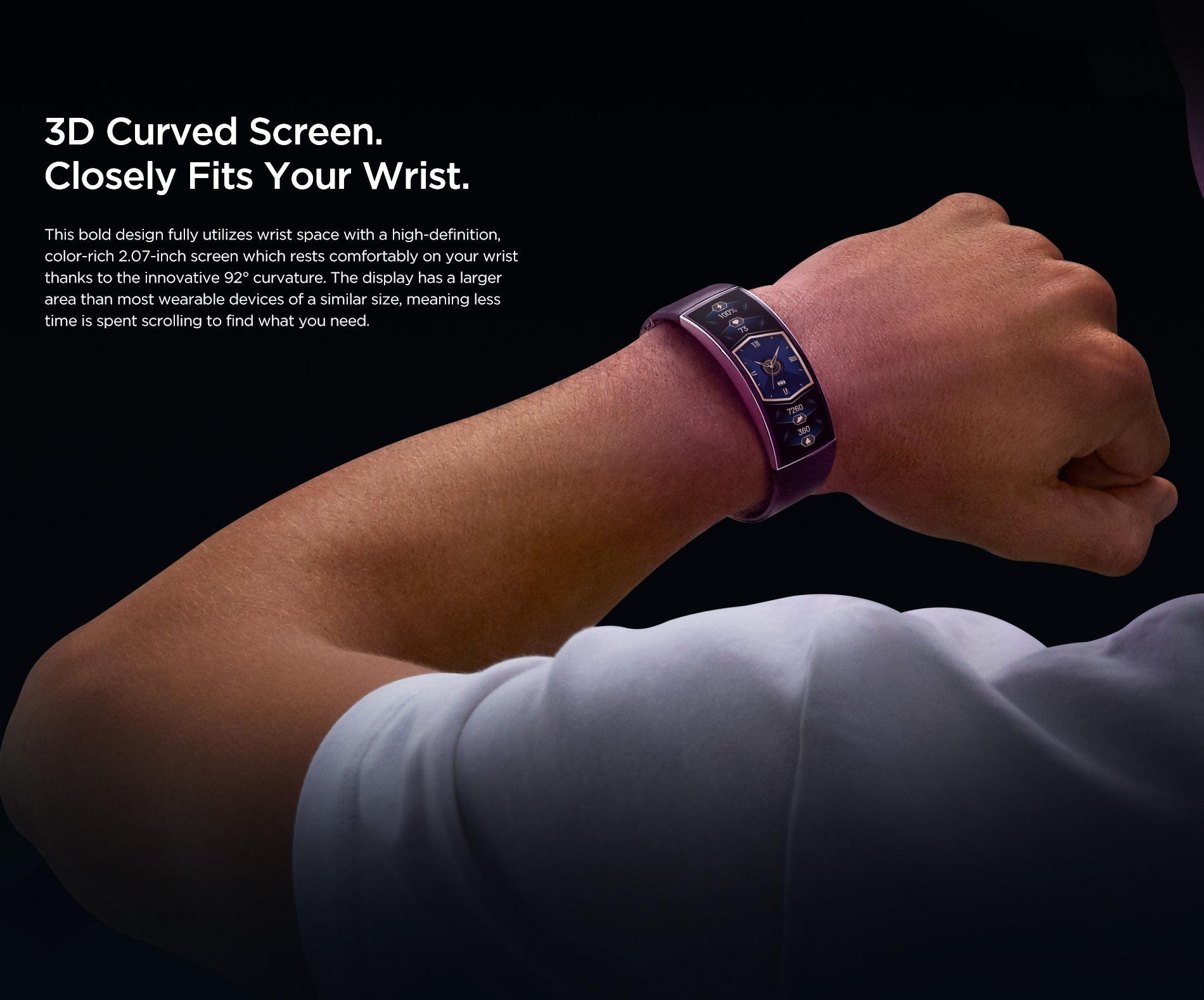 Amazfit X Curved Smartwatch 12