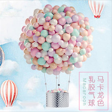 YHZNXH 50pcs Balloons Thicken 2.2g Round Birthday Balloon Party Decoration Wedding Arrangement Candy Macaron