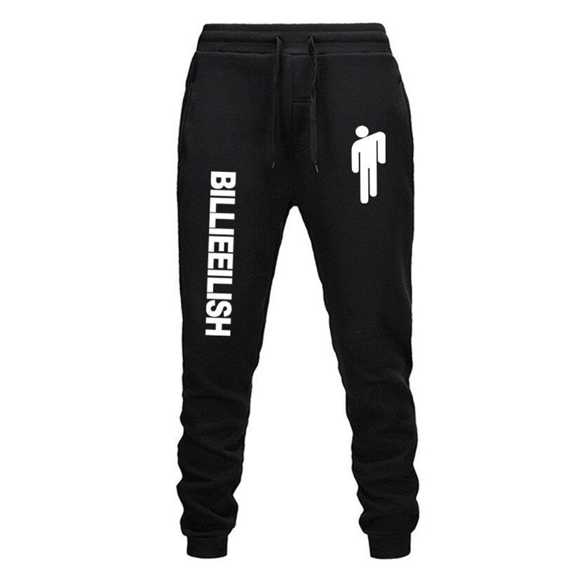 Billie Eilish Fashion Printed Trousers Women/Men Fitness Sweatpants 2019 Hot Sale Casual Trendy Casual Slim Trousers Jogger