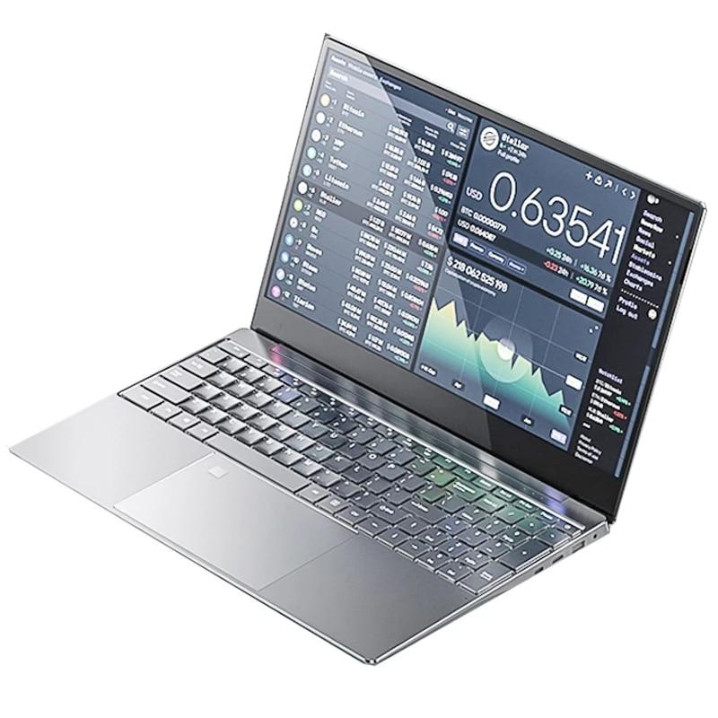 15,6 дюймов игровой ноутбук i7 8G/16G Оперативная память 1 ТБ/128G/256G/512G SSD Тетрадь ноутбук 1920*1080 IPS Дисплей ультрабук