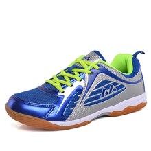 Мужская легкая обувь для бадминтона, дышащие кроссовки для тренировок, Женская Нескользящая амортизирующая мягкая обувь размера плюс 36-45 D0530
