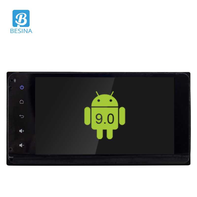 Besina 9inch Android 9.0 Car Radio For <font><b>Toyota</b></font> <font><b>Corolla</b></font> 2017 <font><b>2018</b></font> <font><b>Multimedia</b></font> Player WIFI GPS Navigation HD Audio Stereo 2G+32G RDS image