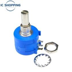 Precision Multi-turn Adjustable Potentiometer Resistance 3590S-2-102L 103L 101L 201L 202L 203L 104L 100R 200R 1K 10K 2K 50K Ohm