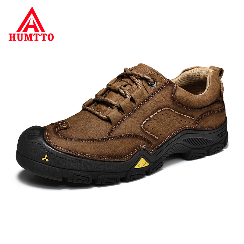New Luxury Brand Leather Shoes Men Spring Summer New Work Casual Mens Shoes Breathable Non-slip Outdoor Sneakers Plus Size 38-46