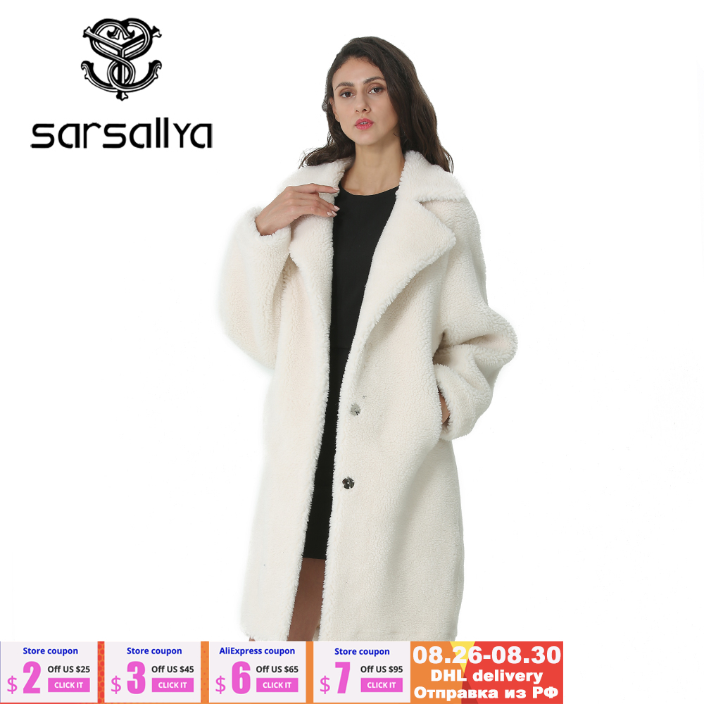 Female Coat Jackets Blends Long-Tops Woolens Autumn Plus-Size Winter Women New And