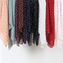 Écharpe en mousseline de soie pour femmes