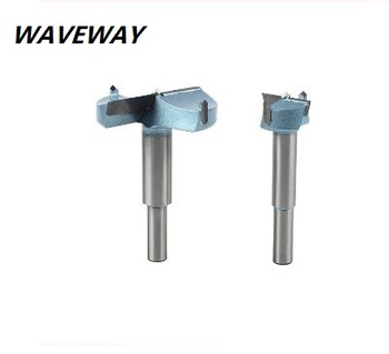 цена на waveway Extended Forstner Bit Tips Woodworking tools Hole Saw Cutter Hinge Boring Drill Bits Round Shank Tungsten Carbide Cutter