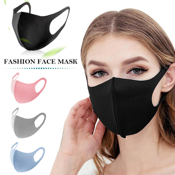 10PCS Unisex Mouth Mask Anti Dust Mask Windproof Mouth-muffle Reusable Washable Dust Proof Soft Face Mask Breathable Mouth Cover фото