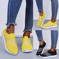 New European and American women's shoes, sports trend, women's leisure net single shoes