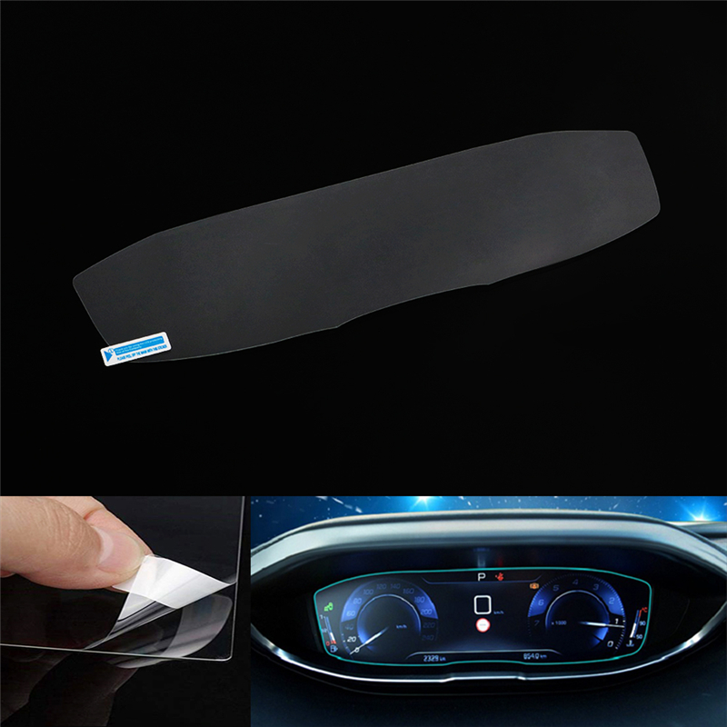 For <font><b>Peugeot</b></font> 3008 <font><b>5008</b></font> <font><b>GT</b></font> 2017 2018 2019 Car Dashboard Tempered Glass Screen Protector Film Instrument Panel Protective Sticker image
