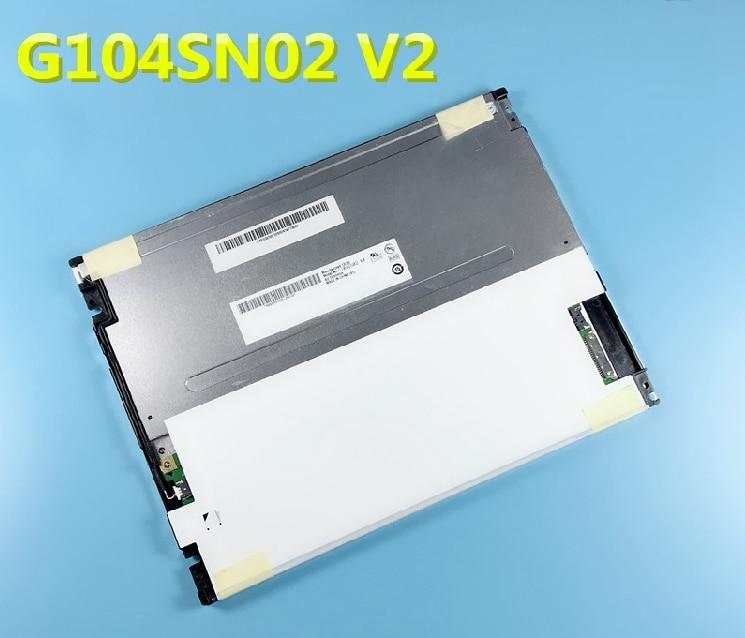 G104SN02 V2 Оригинальный 10,4 дюймовый ЖК-экран