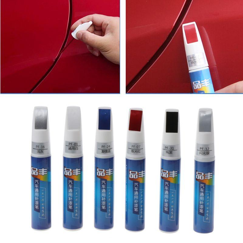 Car Mending Fill Paint Pen Scratch Filler Quickly Dry Waterproof Car Restore  W91F