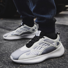 2020 New Trendy Skeleton Noctilucent Yeezys Air 700 Men Shoes Casual  Sneakers Summer Sports Thick Bottom Alien