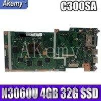 SAMXINNO C300SA ل For Asus Chromebook C300S C300SA Laotop اللوحة الأم C300SA ث/N3060U 4 جيجابايت RAM 32G SSD